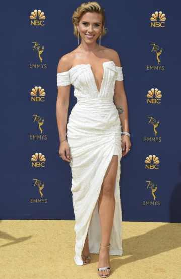 Scarlett Johansson in Balmain