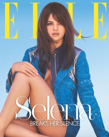 Selena Gomez for US Elle October 2018 Cover C