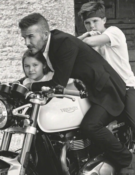 The Beckhams for Vogue UK October 2018-10