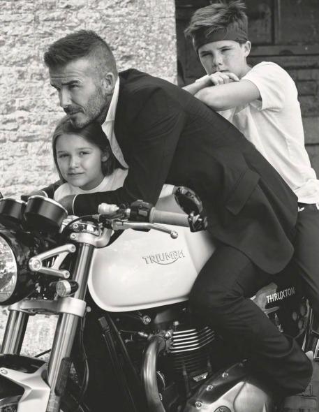 The Beckhams for Vogue UK October 2018-10