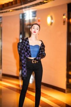 Wu Jing Yen in I Love Pretty Fall 2018-2