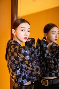 Wu Jing Yen in I Love Pretty Fall 2018-3