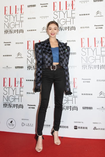 Wu Jing Yen in I Love Pretty Fall 2018