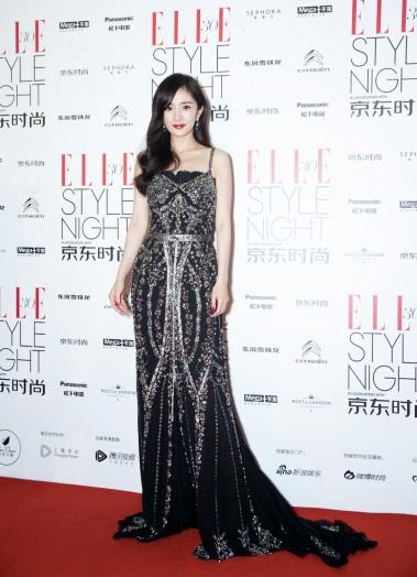 Yang Mi in Dolce & Gabbana Spring 2018 Secret show