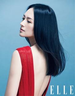 Ziyi Zhang for ELLE China October 2018-1