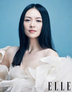 Ziyi Zhang for ELLE China October 2018-4