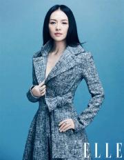 Ziyi Zhang for ELLE China October 2018-5