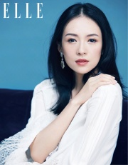 Ziyi Zhang for ELLE China October 2018-8