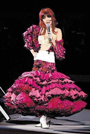 Anita Mui Yim-fong in Dior Fall 2003 Couture