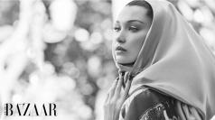 Bella Hadid for Harper's Bazaar Arabia October 2018-4