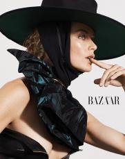 Carolyn Murphy for Harper's Bazaar Taiwan October 2018-1