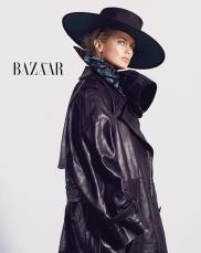 Carolyn Murphy for Harper's Bazaar Taiwan October 2018-2