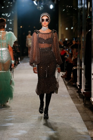 Dolce and Gabbana Secrets and Diamonds Fashion Show Fall 2018