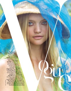 Gemma Ward for Vogue Thailand October 2018-6