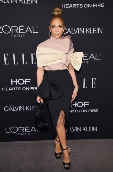 Jennifer Lopez in Maticevski Fall 2018