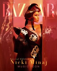 Nicki Minaj Harper's Bazaar Vietnam October 2018 Cover B