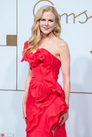 Nicole Kidman in Ermanno Scervino Spring 2019-1