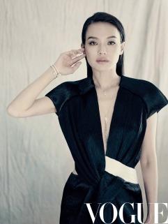 Shu Qi for Vogue November 2018-2
