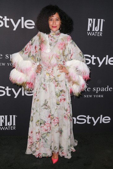 Tracee Ellis Ross in Giambattista Valli Fall 2018 Couture
