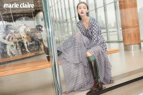 Wu Jin Yen for Marie Claire Taiwan October 2018-1