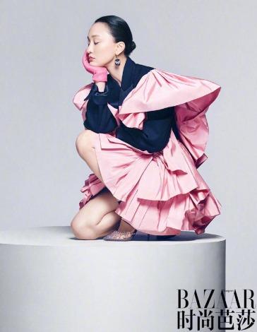 Zhou Xun for Harper's Bazaar China November 2018-10