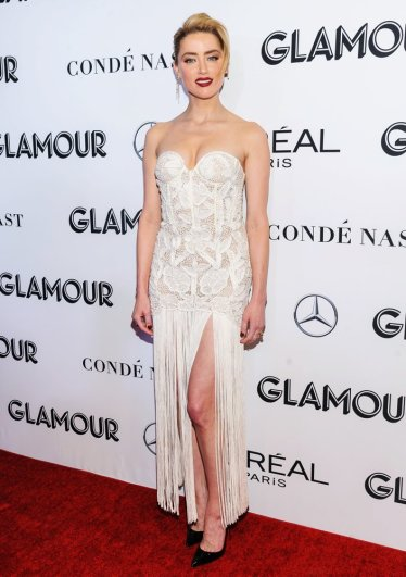 Amber Heard in Oscar de la Renta Spring 2019-2