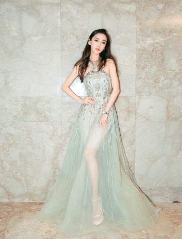 Angelababy in Elie Saab Spring 2018 Couture-7
