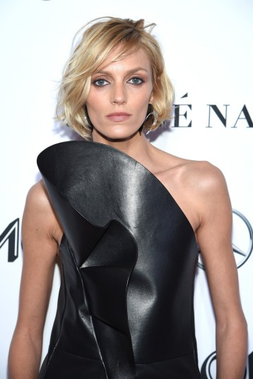 Anja Rubik in Saint Laurent-1