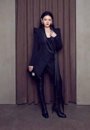 Barbie Hsu in Alexandre Vauthier Fall 2018-2