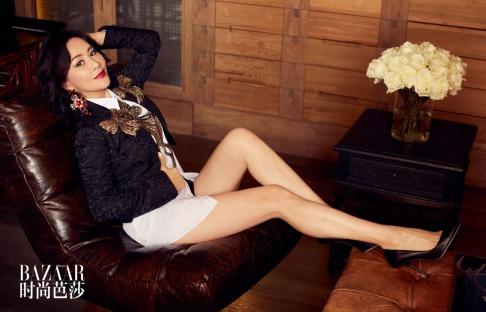 Carina Lau for Harper's Bazaar China December 2018-5