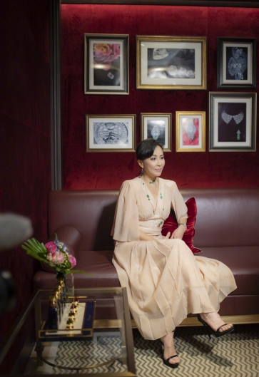 Carina Lau in Fendi Fall 2018-5