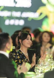 Carina Lau in Saint Laurent Fall 2018-2