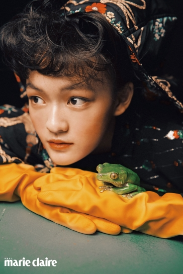 Chen Wenqi for Marie Claire Taiwan November-8