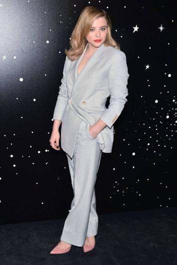 Chloe Moretz in Dior Men Spring 2019-4