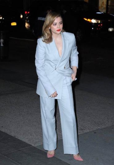 Chloe Moretz in Dior Men Spring 2019-6