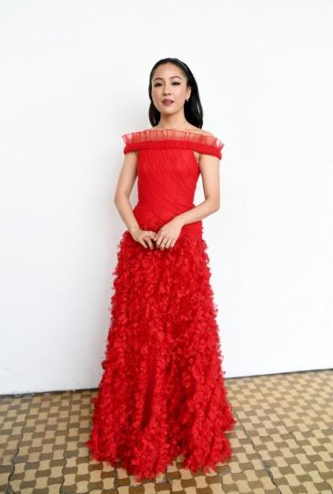 Constance Wu in Rodarte Spring 2019
