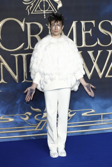 Ezra Miller in Givenchy Fall 2018 Couture-3