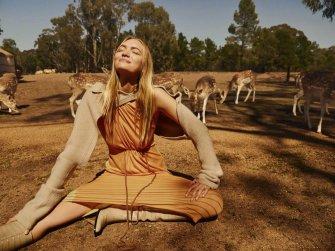 Gemma Ward Harper's Bazaar Australia December 2018-2