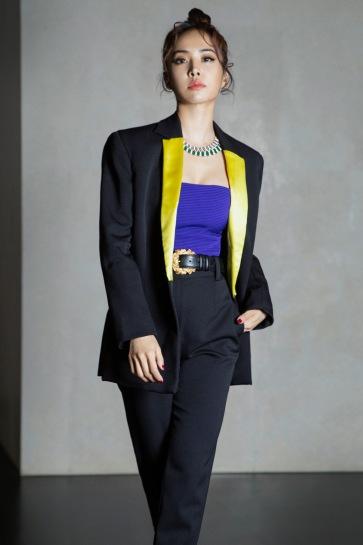 Jolin Tsai in Versace Fall 2018-4