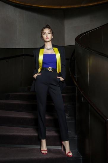 Jolin Tsai in Versace Fall 2018-7