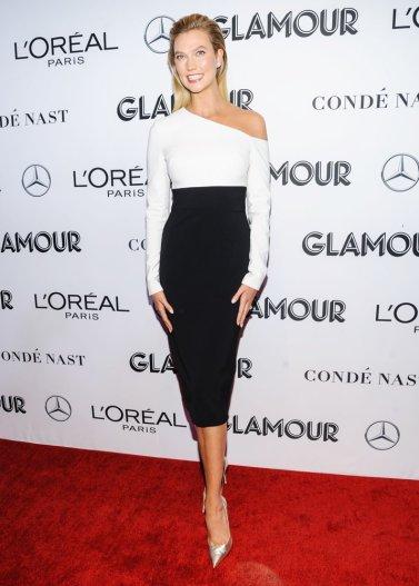 Karlie Kloss in Brandon Maxwell Spring 2019-2