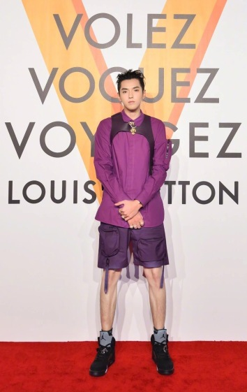Kris Wu in Louis Vuitton Spring 2019 Menswear