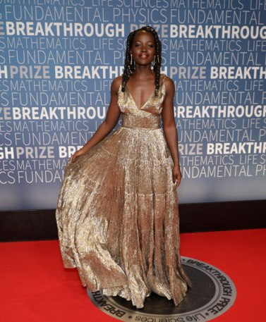 Lupita Nyong'o in Oscar de la Renta Spring 2019-3