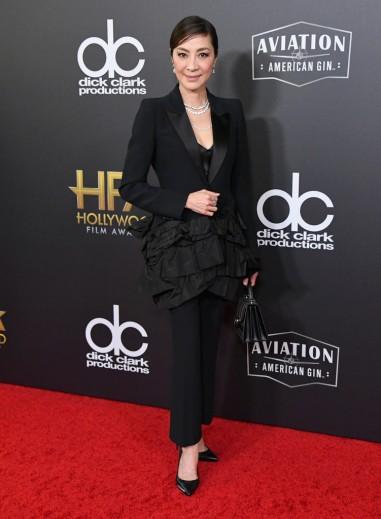 Michelle Yeoh in Alexander McQueen Spring 2018-2