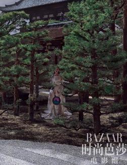 Ni Ni for Harper's Bazaar China December 2018-7