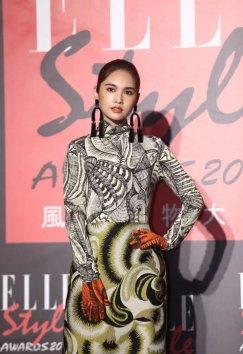 Rainie Yang in Dries Van Noten Fall 2018-4
