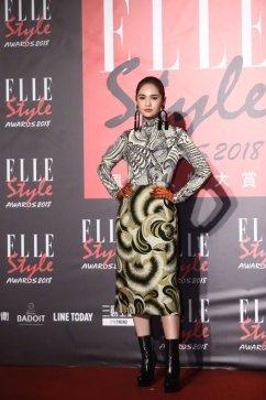 Rainie Yang in Dries Van Noten Fall 2018
