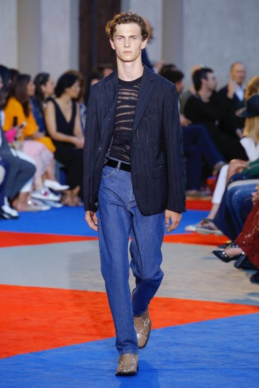 Roberto Cavalli Spring 2019 Menswear