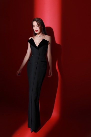 Shu Qi in Jean Paul Gaultier Fall 2018 Couture-1