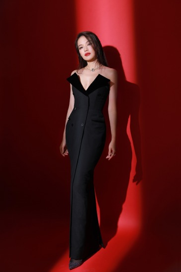 Shu Qi in Jean Paul Gaultier Fall 2018 Couture